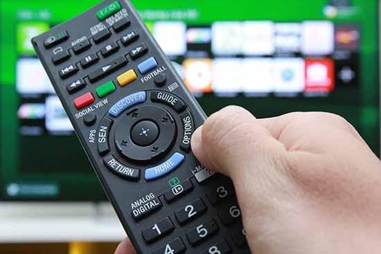 Khôi phục cài đặt gốc để sửa tivi bị mất màu