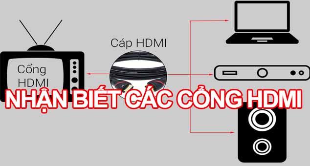 Nhận biết các loại cổng HDML trên Tivi