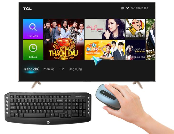 Hướng dẫn kết nối chuột và bàn phím với Smart Tivi