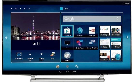 Sửa chữa Smart Tivi Toshiba