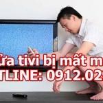 Cách sửa tivi bị mất màu