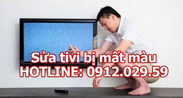 Sửa tivi bị mất màu
