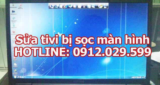 Sửa tivi bị sọc màn hình
