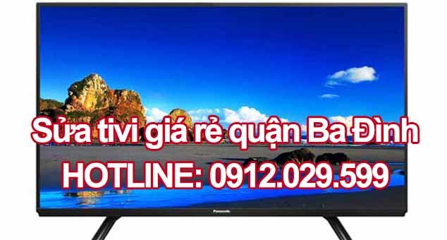 Sửa tivi giá rẻ quận Ba Đình
