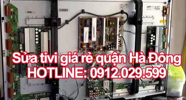 Sửa tivi giá rẻ quận Hà Đông - Hà Nội