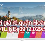 Sửa tivi giá rẻ tại quận Hoàn Kiếm – Hà Nội