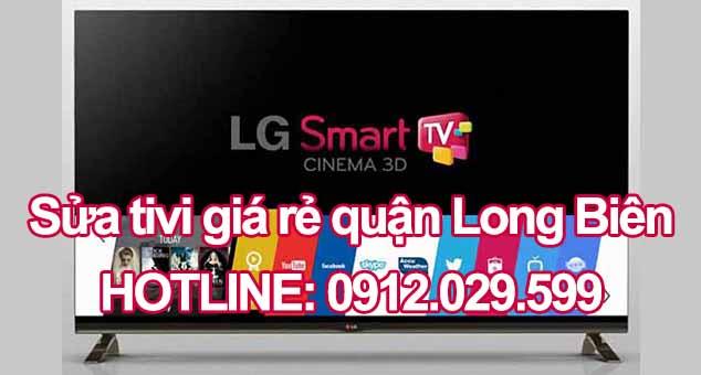 Sửa tivi giá rẻ quận Long Biên