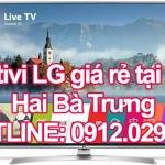 Sửa tivi LG giá rẻ tại quận Hai Bà Trưng – Hà Nội