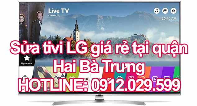 Sửa tivi LG giá rẻ tại quận Hai Bà Trưng