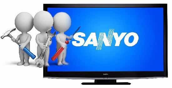 Sửa tivi Sanyo tại nhà Hà Nội giá rẻ