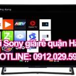 Sửa tivi Sony giá rẻ quận Hà Đông