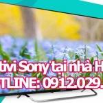 Sửa tivi Sony tại nhà Hà Nội
