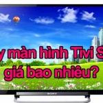 Thay màn hình tivi Sony giá bao nhiêu?