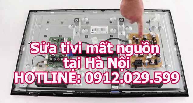 Sửa tivi mất nguồn tại Hà Nội