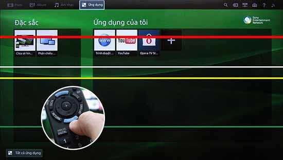 Sửa tivi bị sọc màn hình giá rẻ - Sửa tivi tại nhà