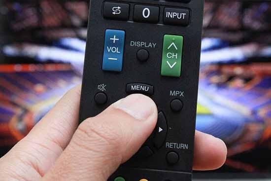 Remote của tivi Sharp không hoạt động