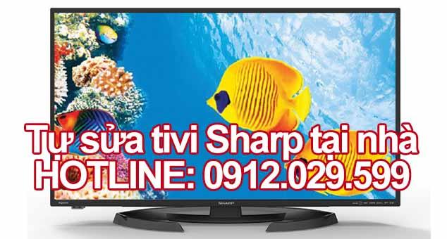 Tự sửa tivi Sharp tại nhà