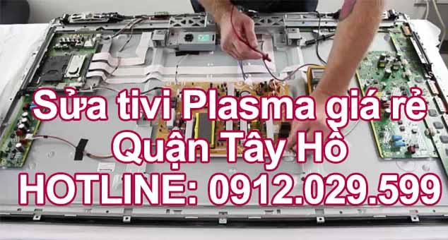 Sửa tivi Plasma giá rẻ quận Tây Hồ - Hà Nội
